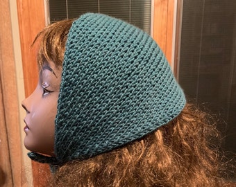 Head Scarf -- a loom knit pattern