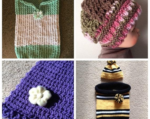 Baby eBook - 4 unique loom knit patterns