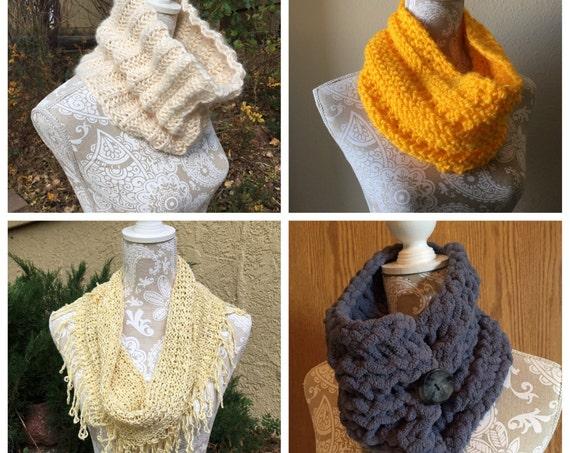 Cowls, Vol. 1 eBook - 4 unique loom knit patterns