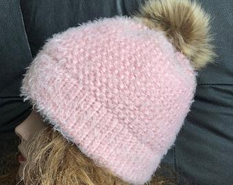 Above Tree Line Hat - a loom knit pattern