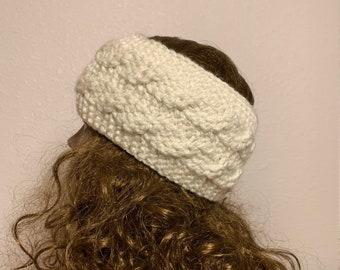 Cabled Headband -- a loom knit pattern