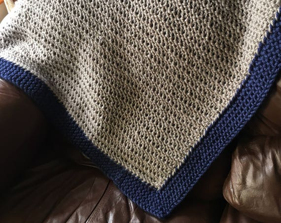 Mountain Brook Baby Blanket -- a loom knit pattern
