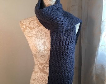Irish Spring Scarf  --  a loom knit pattern