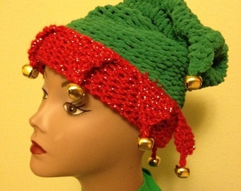 Elf Hat - a loom knit pattern