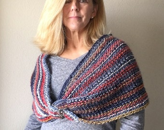 Cool Breezes Twist - a loom knit pattern