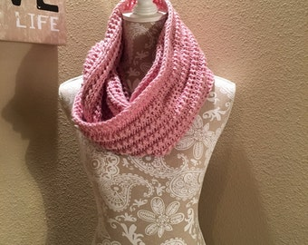 Impatient Infinity Scarf - a loom knit pattern
