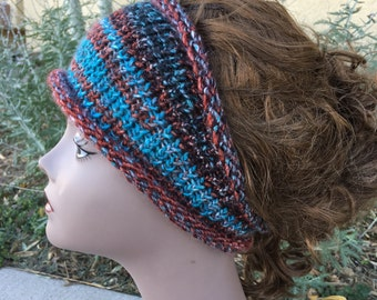 Boho Headband - a loom knit pattern
