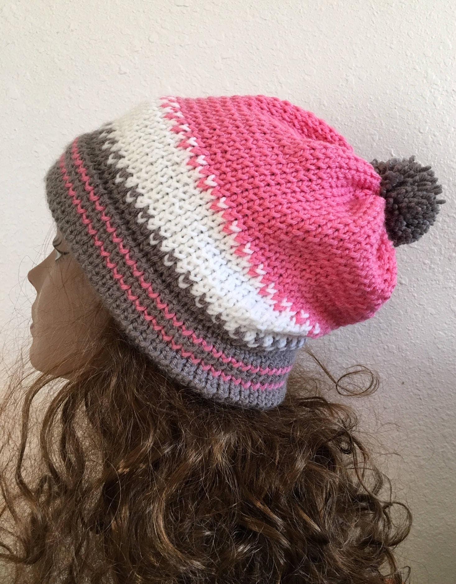 0456afd62d8 Wild Horse Hat -- a loom knit pattern
