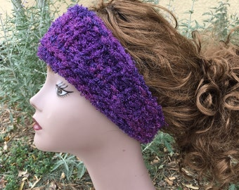 Sashay Headband - a loom knit pattern