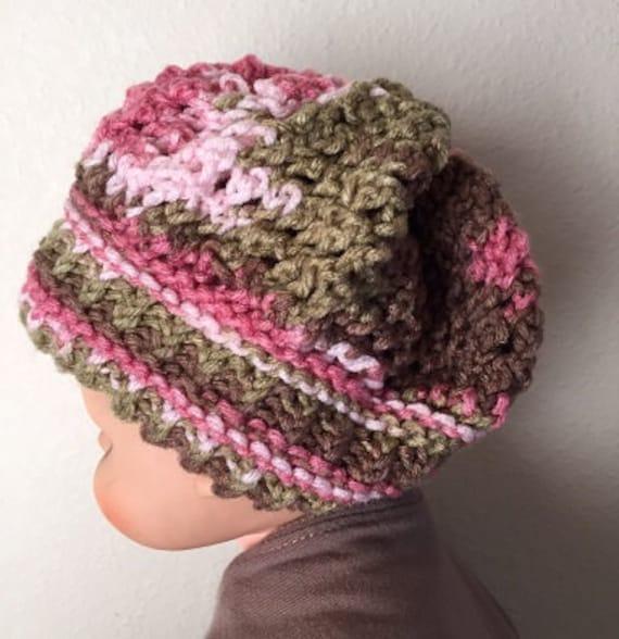 Rivulet Baby Hat -- a loom knit pattern