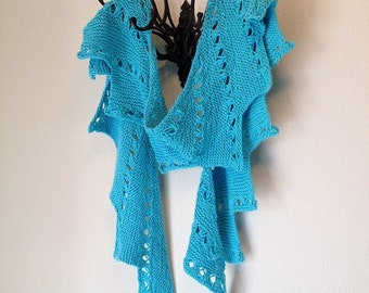 Manitou Scarf - a loom knit pattern