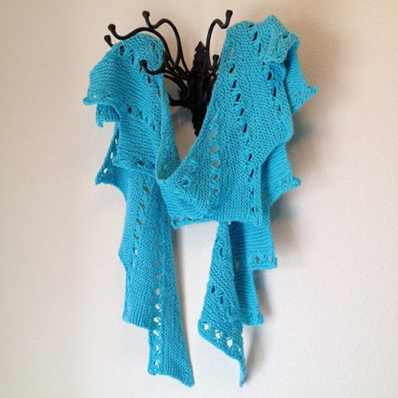 Manitou Scarf - a loom knit pattern