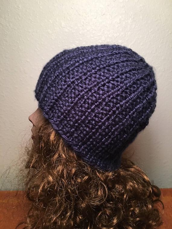 A-Basin Beanie  --  a loom knit pattern