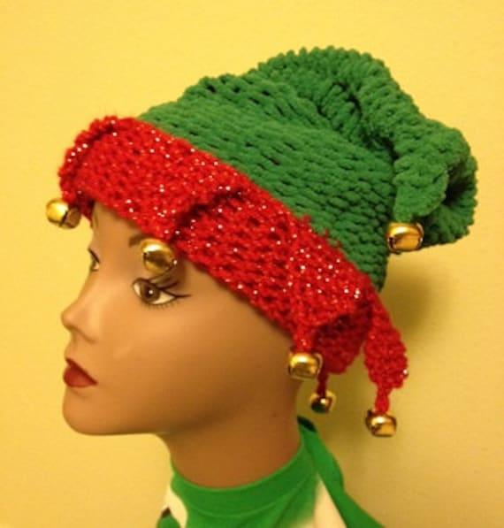 Elf Hat - a loom knit pattern