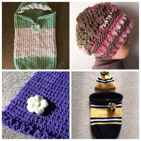 Baby Ebook 4 Unique Loom Knit Patterns Etsy