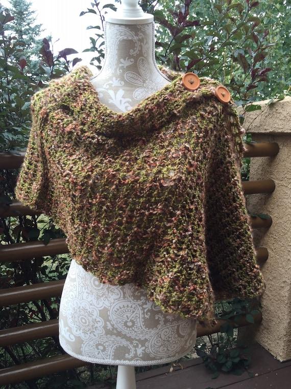 Mobius Wrap - a loom knit pattern