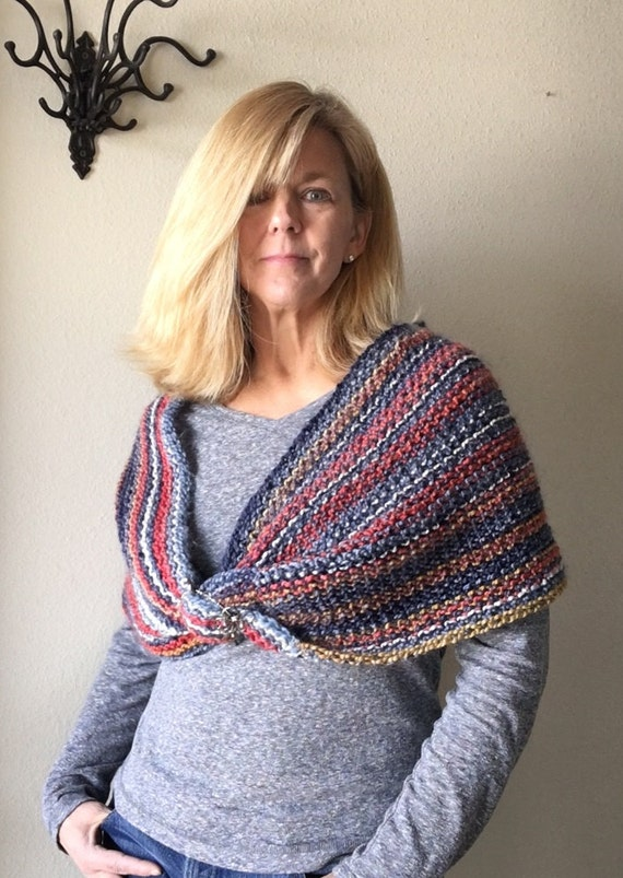 Cool Breezes Twist - a loom knit pattern