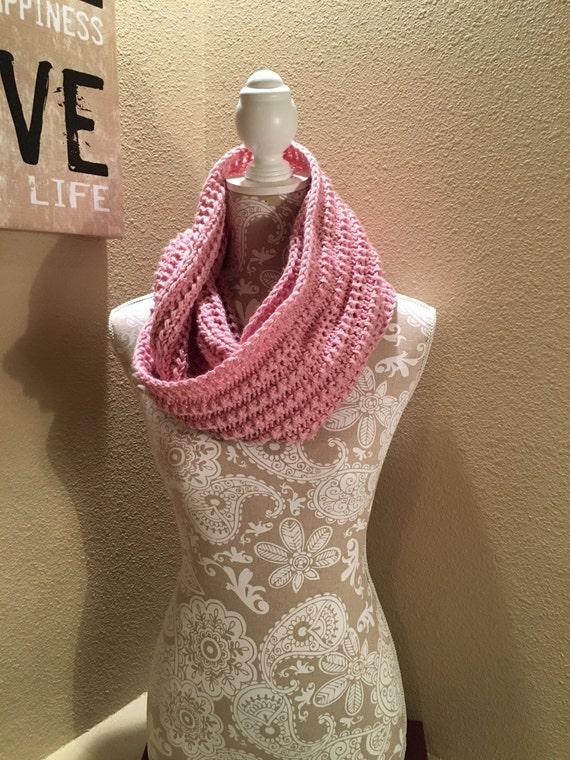 Impatient Infinity Scarf - a loom knit pattern