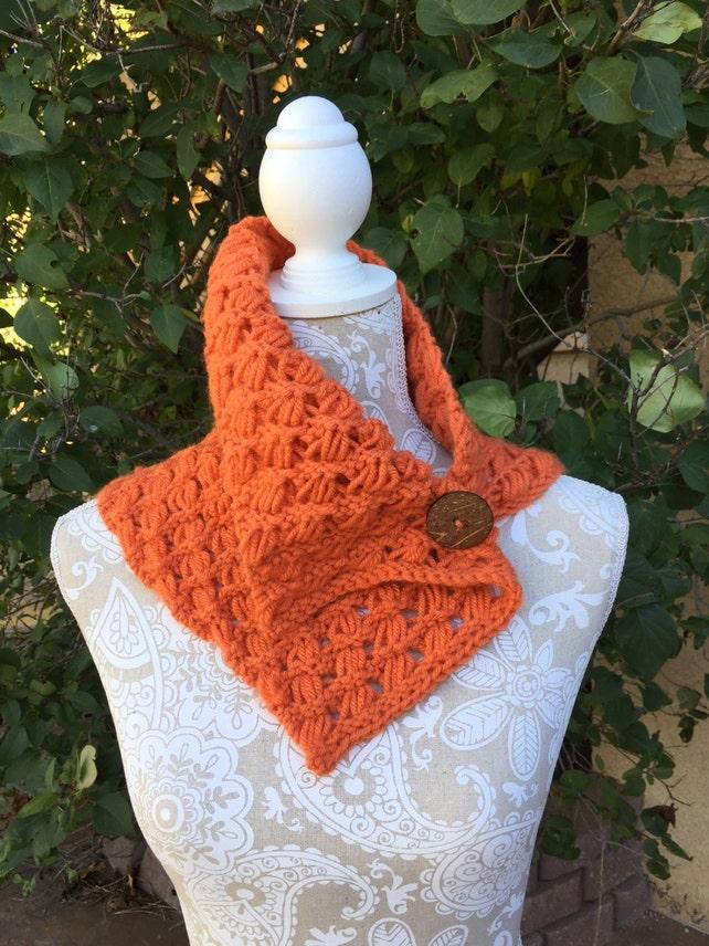 Indian Cross Stitch Cowl A Loom Knit Pattern Etsy
