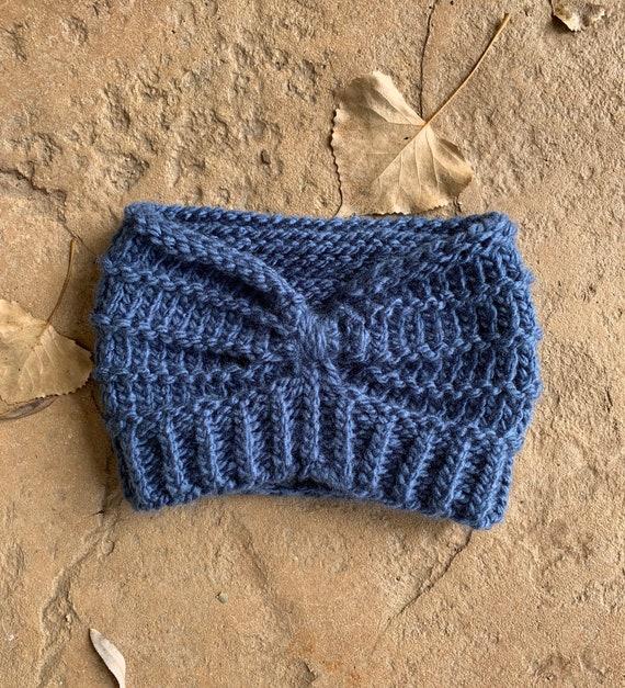 Gunnison Headband  --  a loom knit pattern