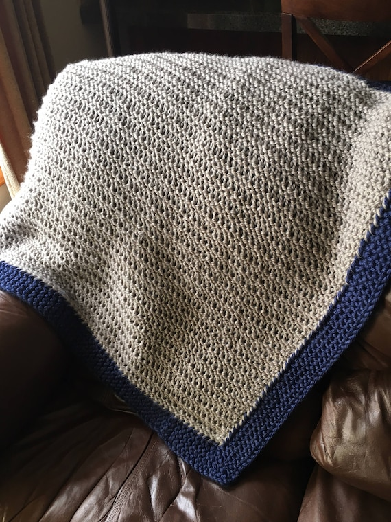 Mountain Brook Baby Blanket A Loom Knit Pattern Etsy