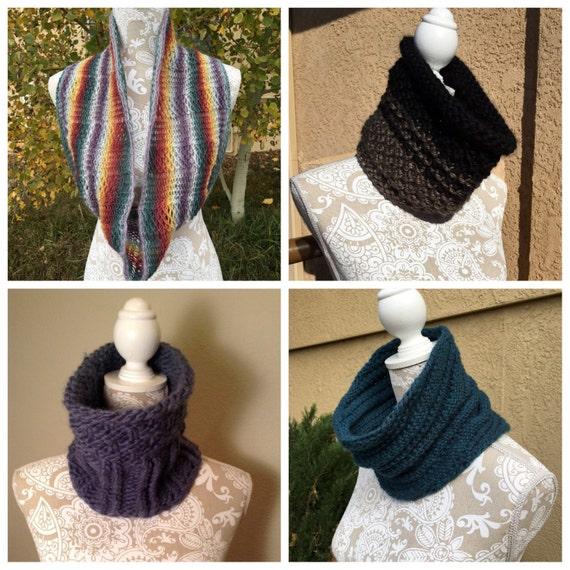 Cowls, Vol. 2 eBook - 4 unique loom knit patterns