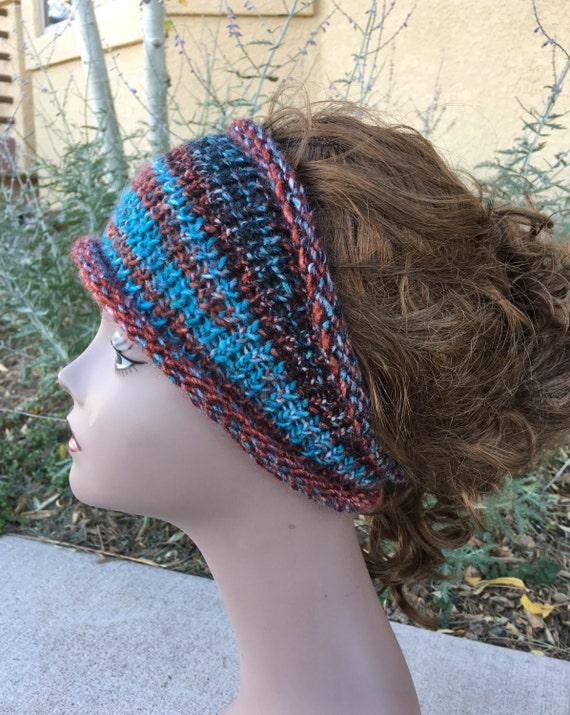 Boho Headband - a loom knit pattern