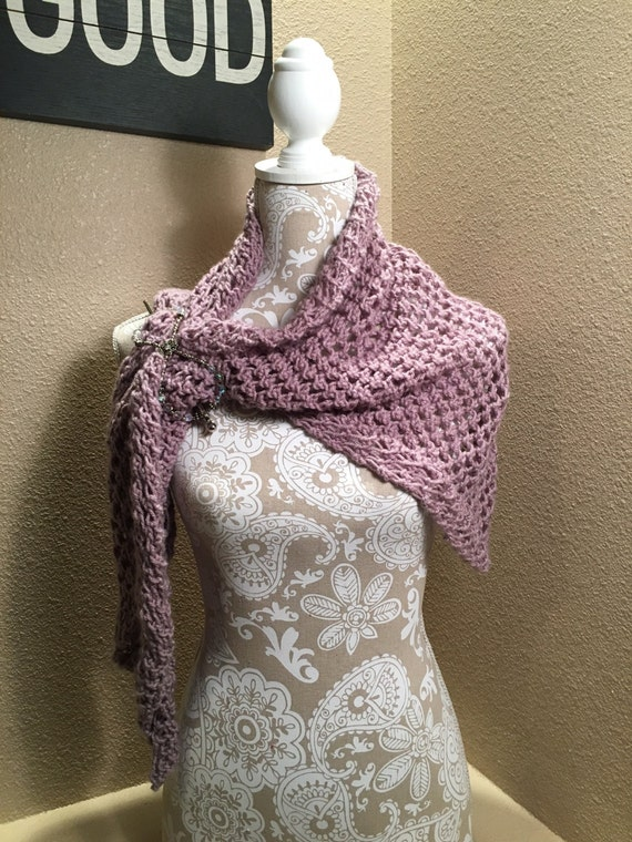 Pagosa Springs Scarf -- a loom knit pattern