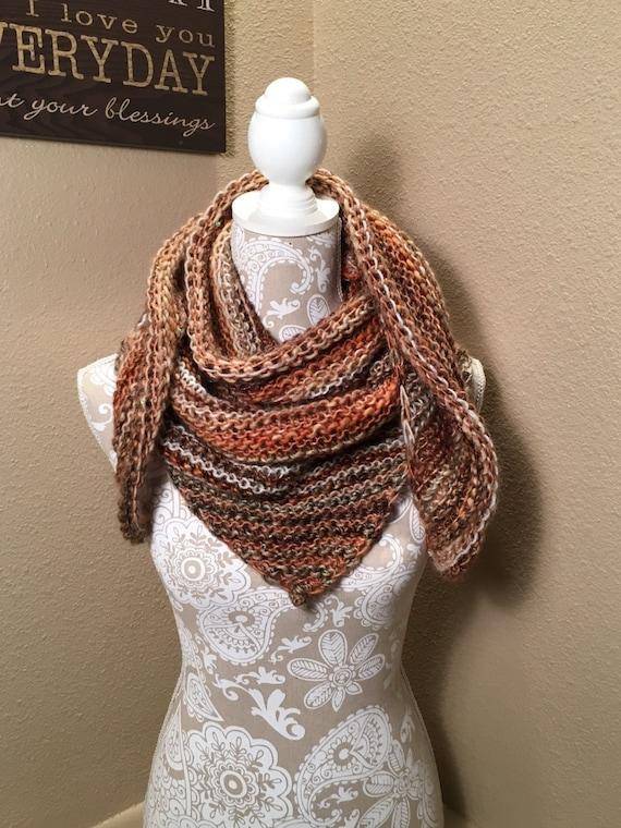 Aspen Scarf  -  a loom knit pattern