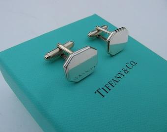 Vintage Tiffany 925 Silver Cufflinks