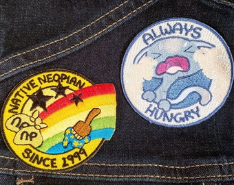Native Neopian / Always Hungry Kadoatie 2.5in Embroidered Patch