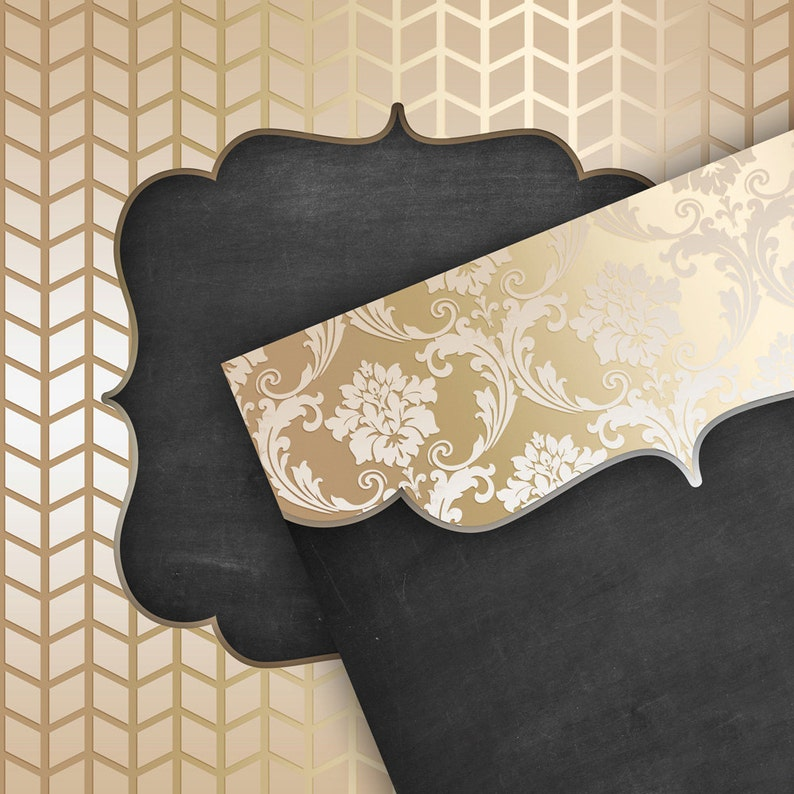 wedding invitations Christmas Chalkboard /& GOLD Digital Paper Pack Rustic blackboard pattern gold metal backgrounds for scrapbooking