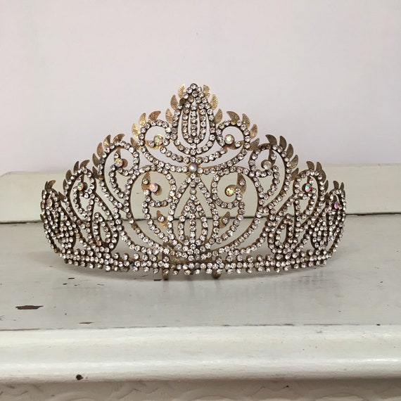 Vintage Diamanté Tiara - Indonesian Ceremonial Hea