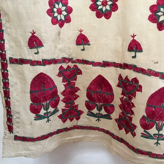 Antique Asian Shawl - Sindi Abochhini Shawl - Embr