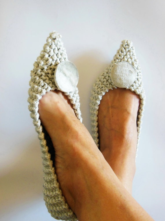 Pointed Toe Shoes Cotton slippers