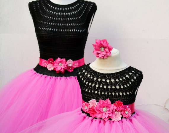 Mother Daughter Matching Dresses Adult tutu dress, Birthday dresses, Women tutu dress, Wedding dress, Hen party dress, Adult Princess dress