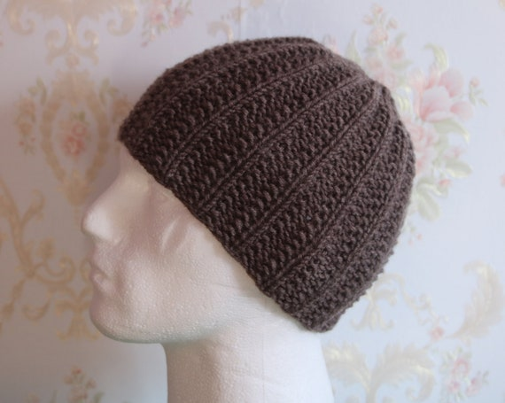 mens winter hats, hand knitted beanie hats, gift for men