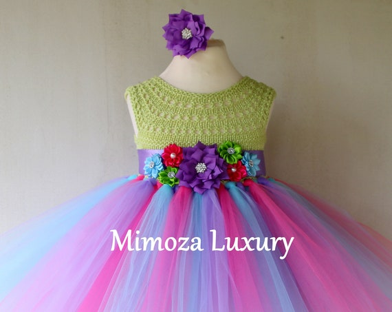 Lollipop Birthday Tutu Dress