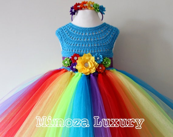 My Little Pony Rainbow Dress, 1st birthday outfit