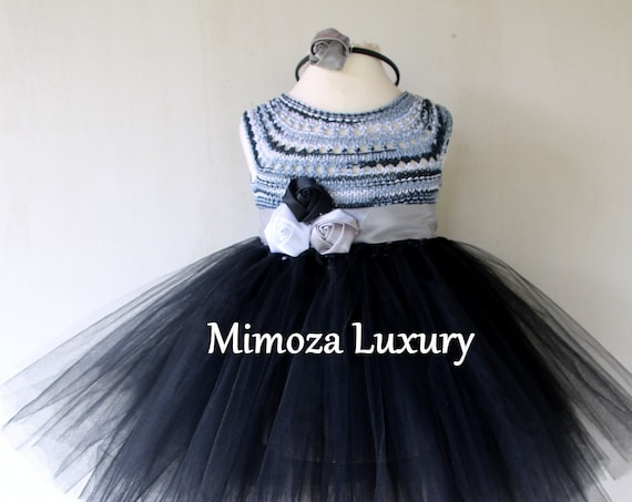 Black Birthday Girl Dress