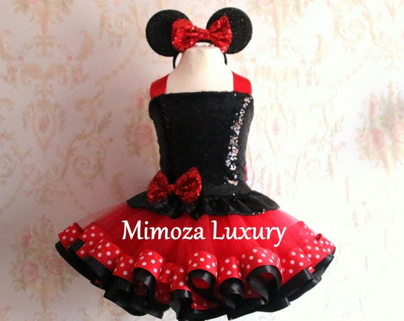 Luxury Minnie Mouse dress