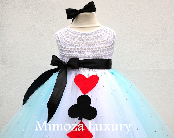 Alice in Wonderland Princess tutu dress, Alice costume, Alice outfit, Alice in wonderland dress, Fairy tale princess tutu dress, tea party