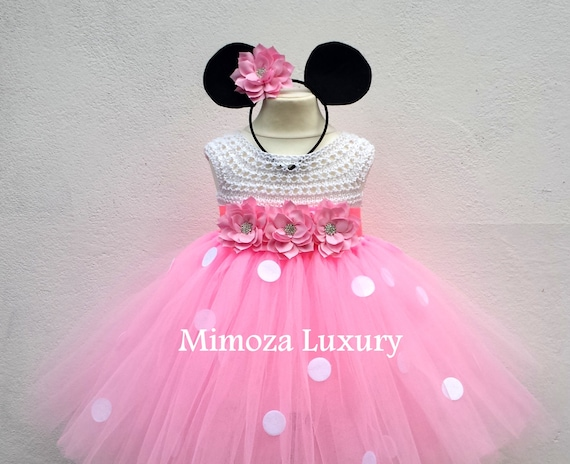Minnie mouse dress 1st birthday tutu dress