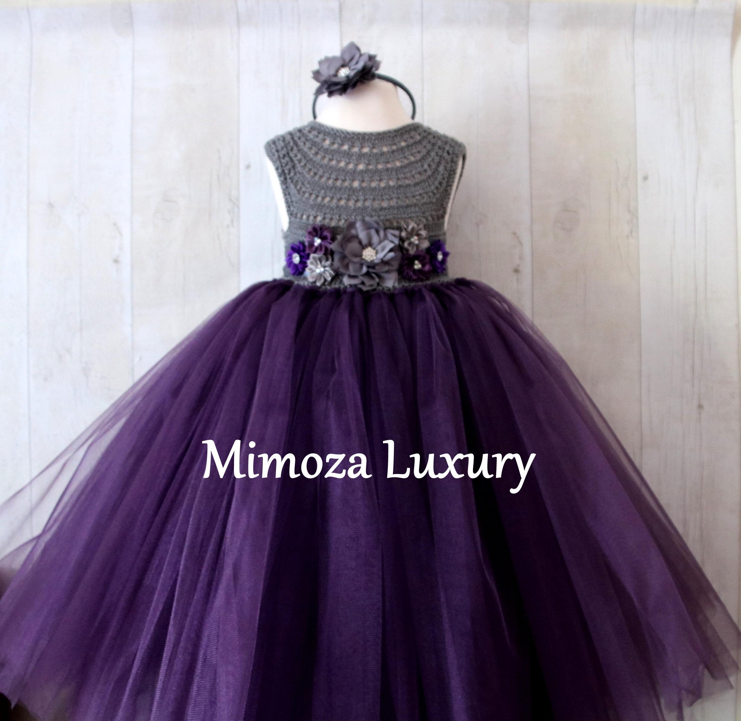 040dc5d13c6 ... grey little bridesmaid dress. gallery photo ...