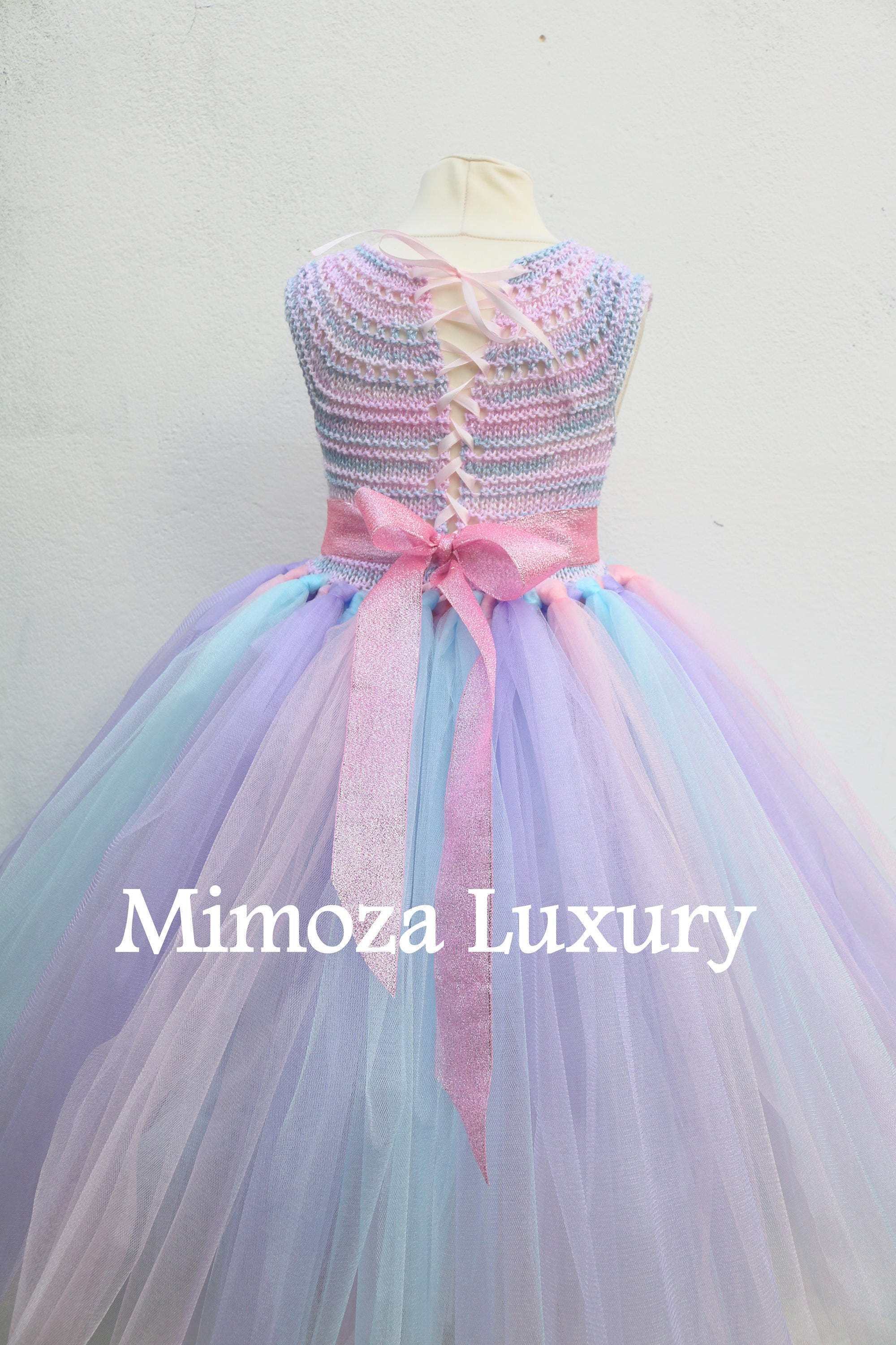 unicorn birthday tutu dress