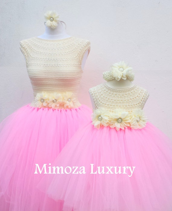 Mother Daughter Matching Dresses Adult tutu dress, Bridesmaid dress, Women tutu dress, Wedding dress, Hen party dress, Adult Princess dress