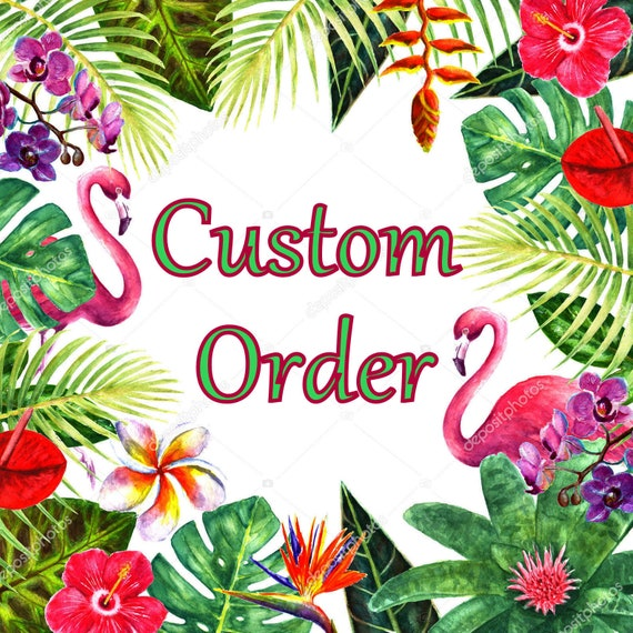 Custom Order - Custom Color Combination