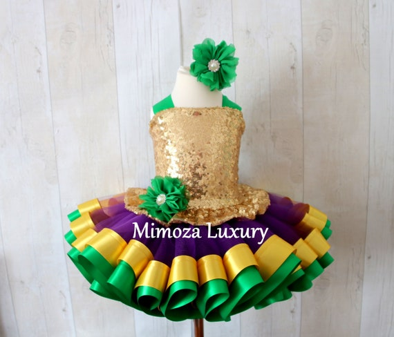 Mardi Gras Costume, mardi grass outfit, mardi grass dress, baby girl mardi grass tutu, mardi grass baby dress, infant girl dress, mardi gras