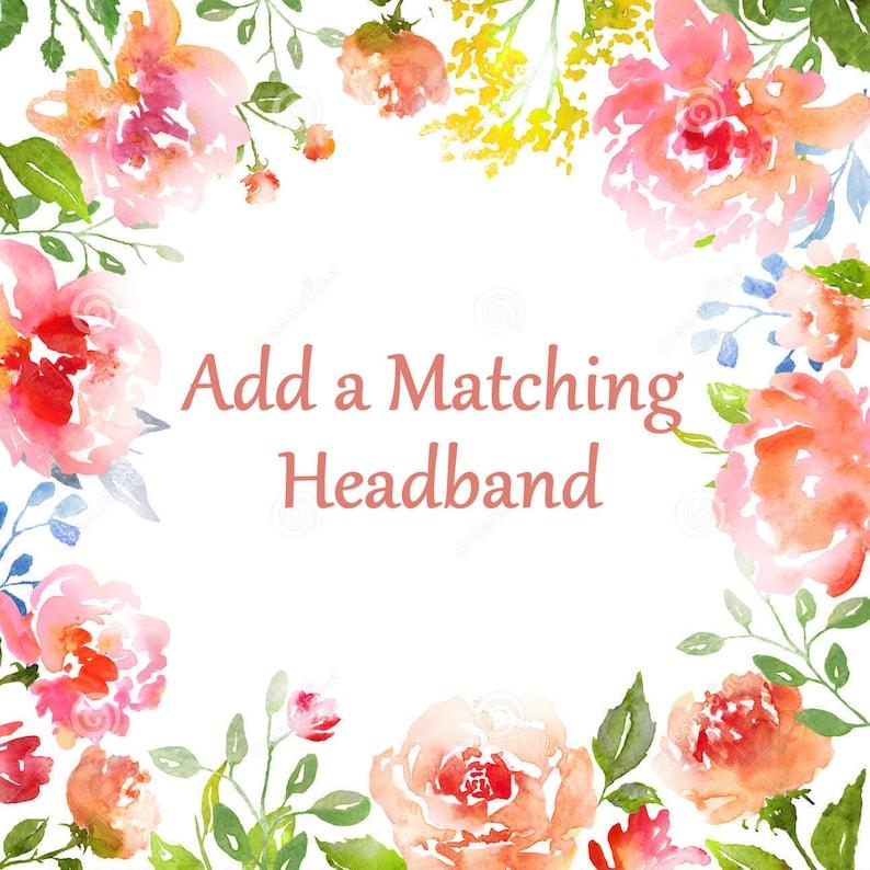 Add a Matching headband to your dress image 0