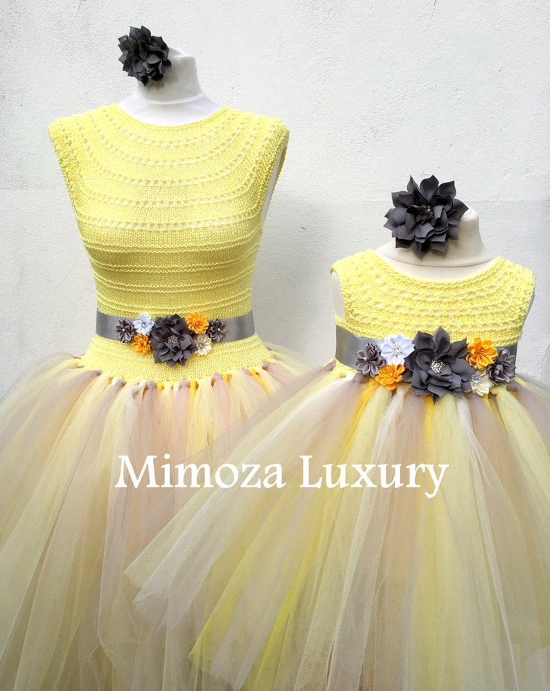 c5ffbcd8932431 Mother Daughter Matching Dresses Adult tutu dress Bridesmaid | Etsy